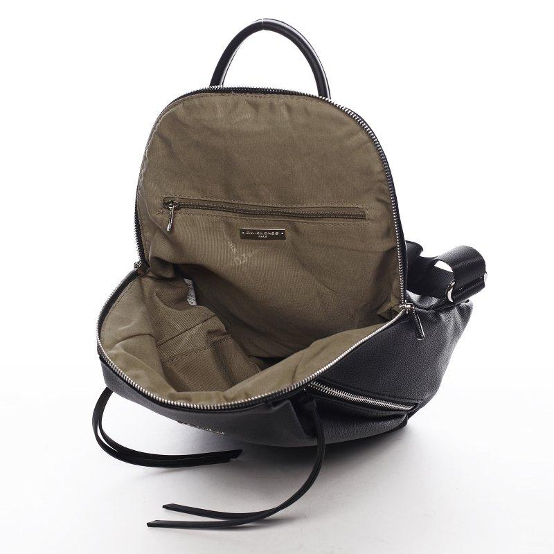 Trendový městský batoh Summer light, černý