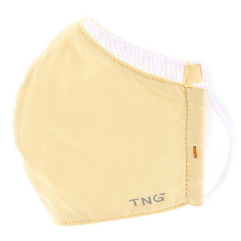 Stylová antibakteriální rouška TNG Yellow, třívrstvá, velikost M