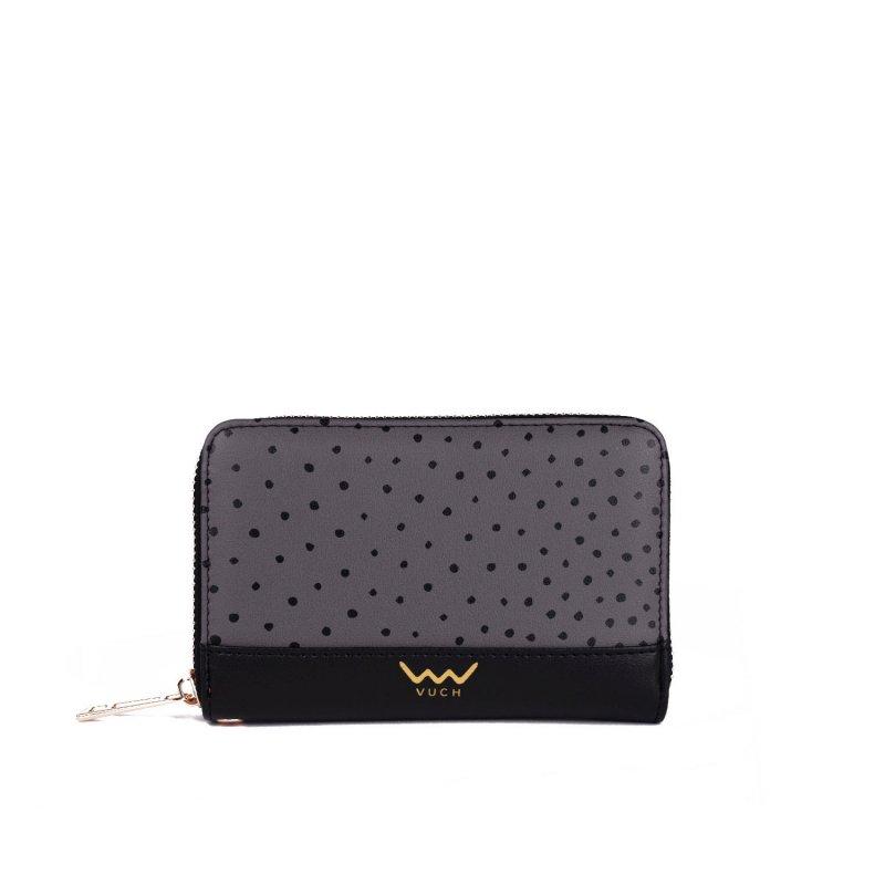 Designová peněženka VUCH Lora, šedá
