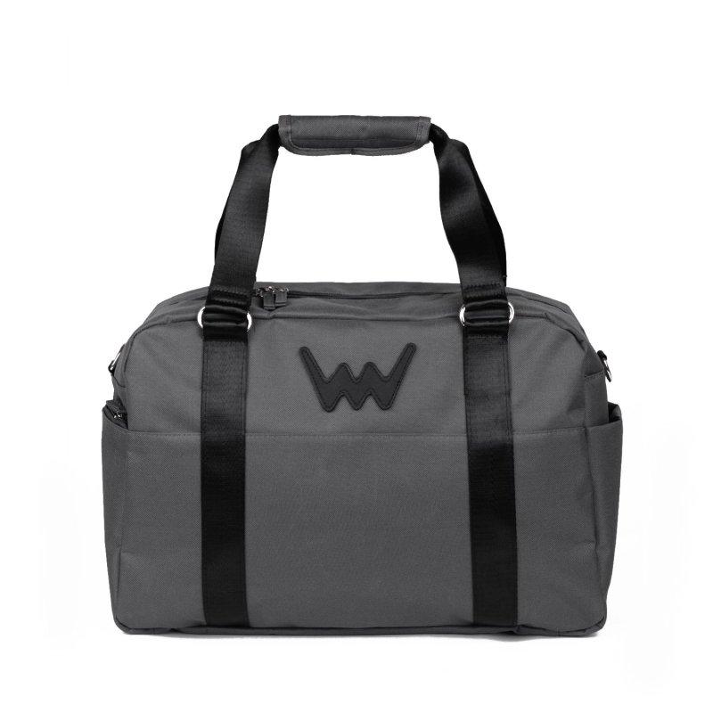 Sportovní cestovní taška VUCH Lisbon,černo šedá