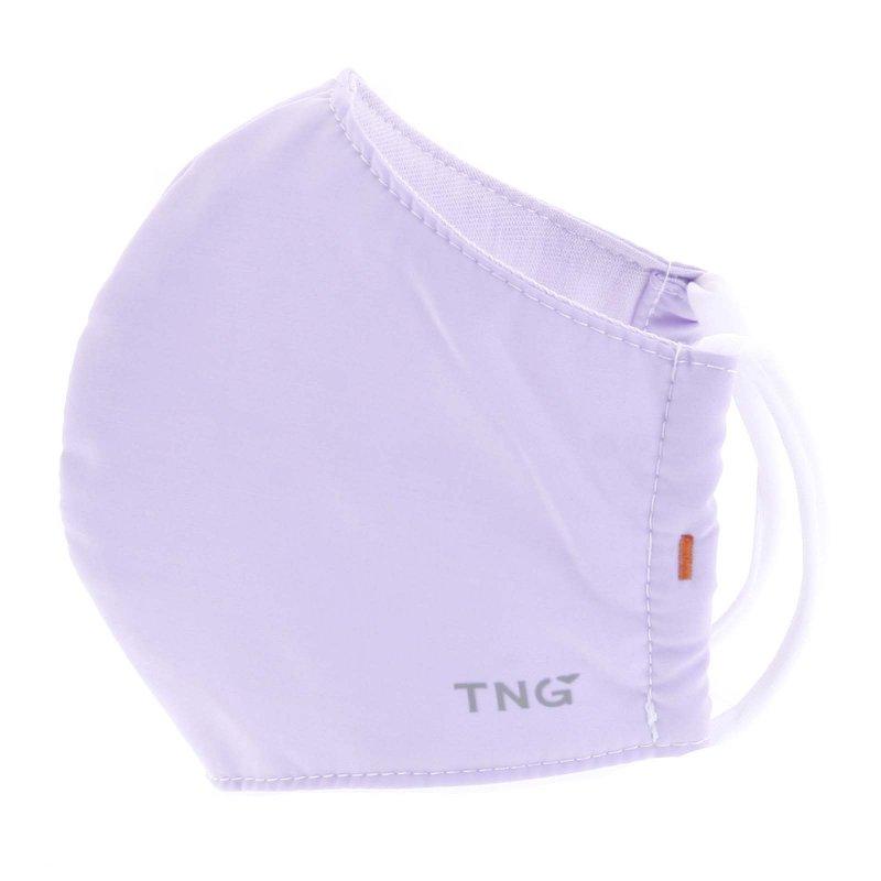 Stylová antibakteriální rouška TNG světlá fialková, třívrstvá, velikost M