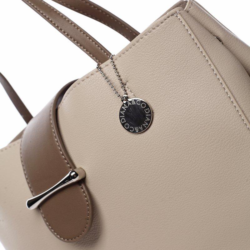 Elegantní dámská koženková kabelka Aida, béžová