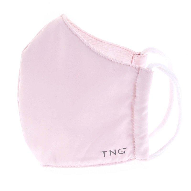 Stylová antibakteriální rouška TNG světle růžová , třívrstvá, velikost M