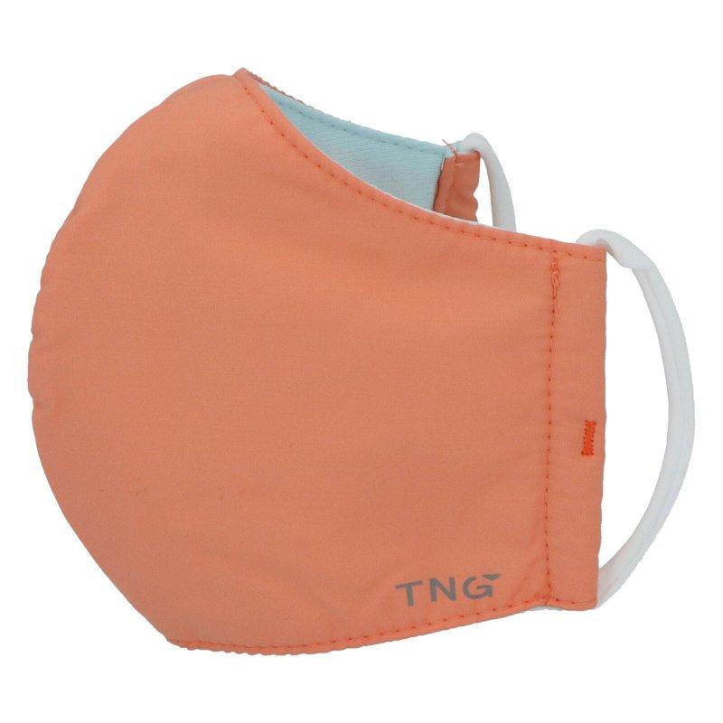Stylová antibakteriální rouška TNG oranžová, třívrstvá, velikost M