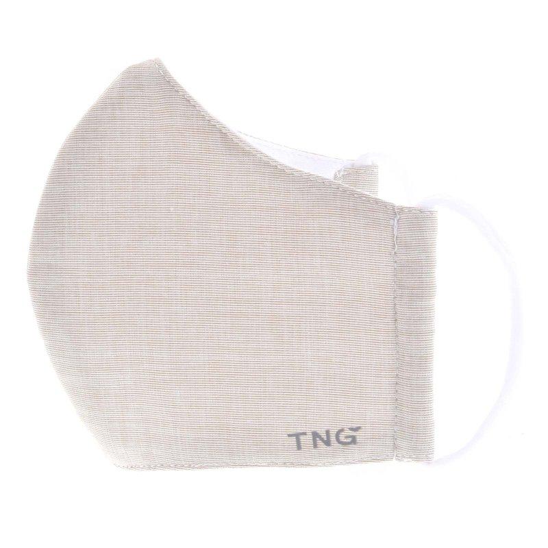 Stylová antibakteriální rouška TNG okrová, třívrstvá, velikost M