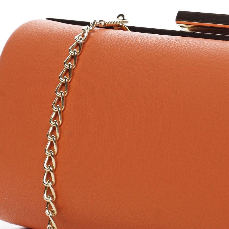 Moderní koženkové psaníčko Lovely Lu, oranžové