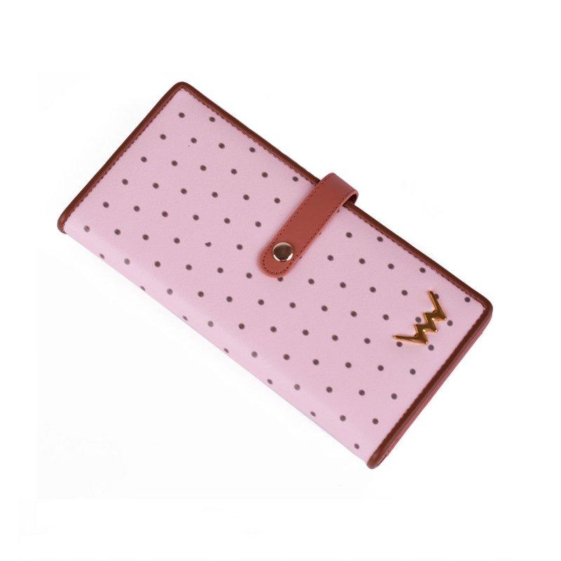 Designová peněženka VUCH Rosali, růžová
