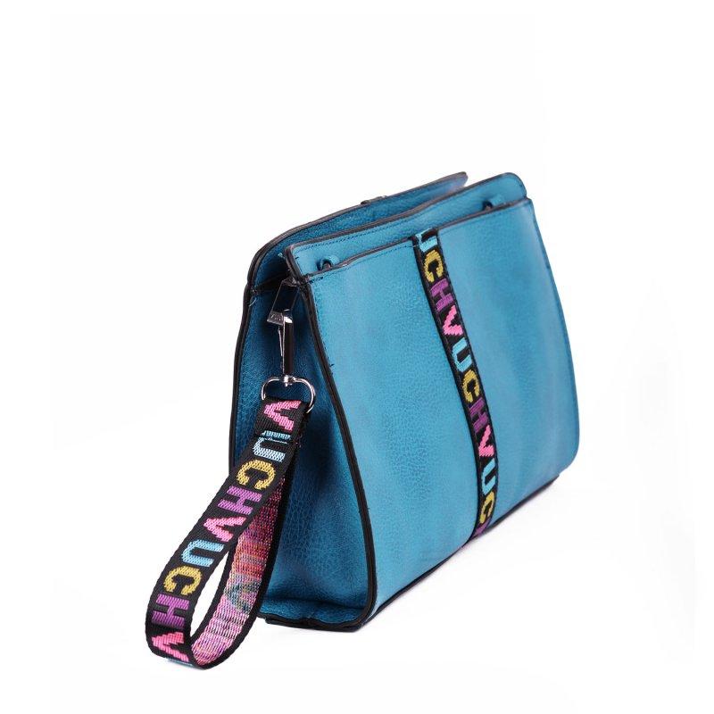 Trendová dámská kabelka VUCH Keitlyn, tyrkysová