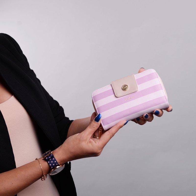Dámská peněženka VUCH Candys, růžová