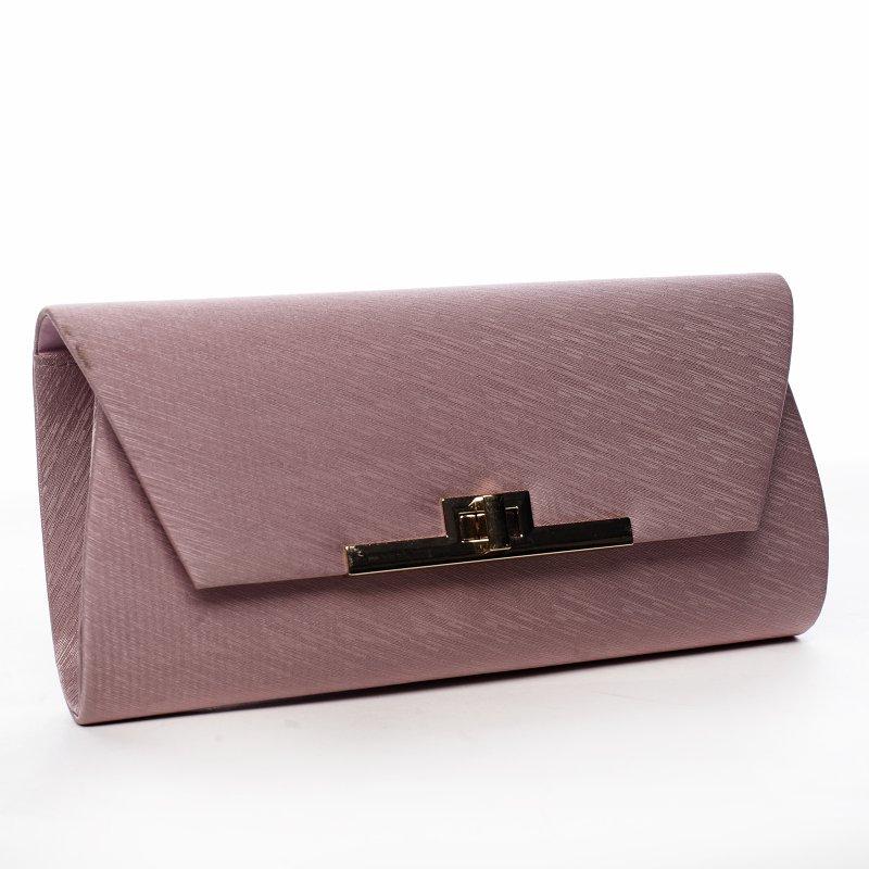 Společenská dámská kabelka Idila, růžová