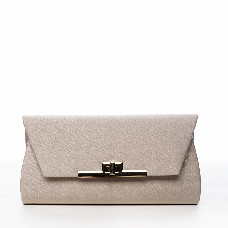 Společenská dámská kabelka Idila, béžová