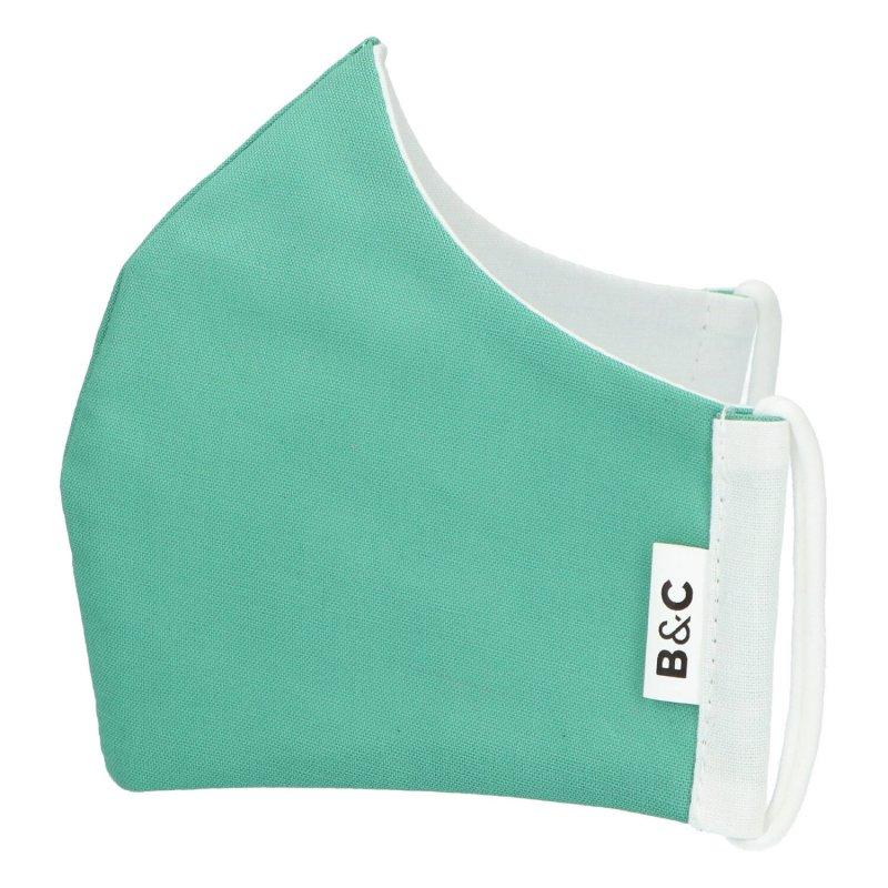 Nano rouška , české výroby B&C, zelená, velikost L