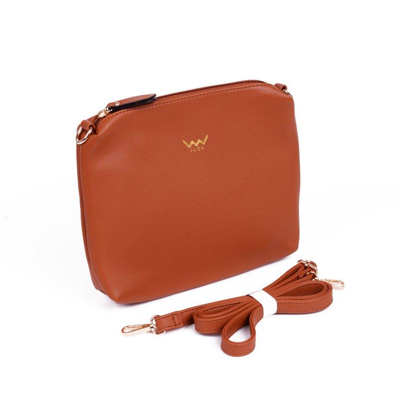 Moderní dámská kabelka VUCH Cornie, hnědá