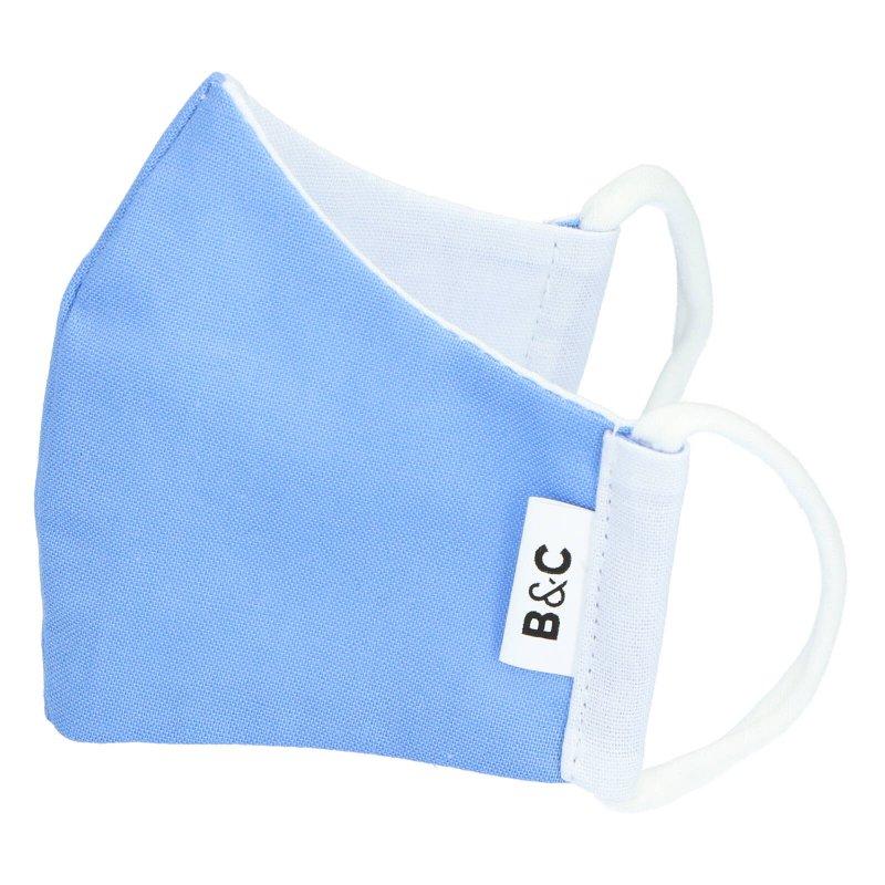 Nano rouška dětská , české výroby B&C, modrá, velikost XS