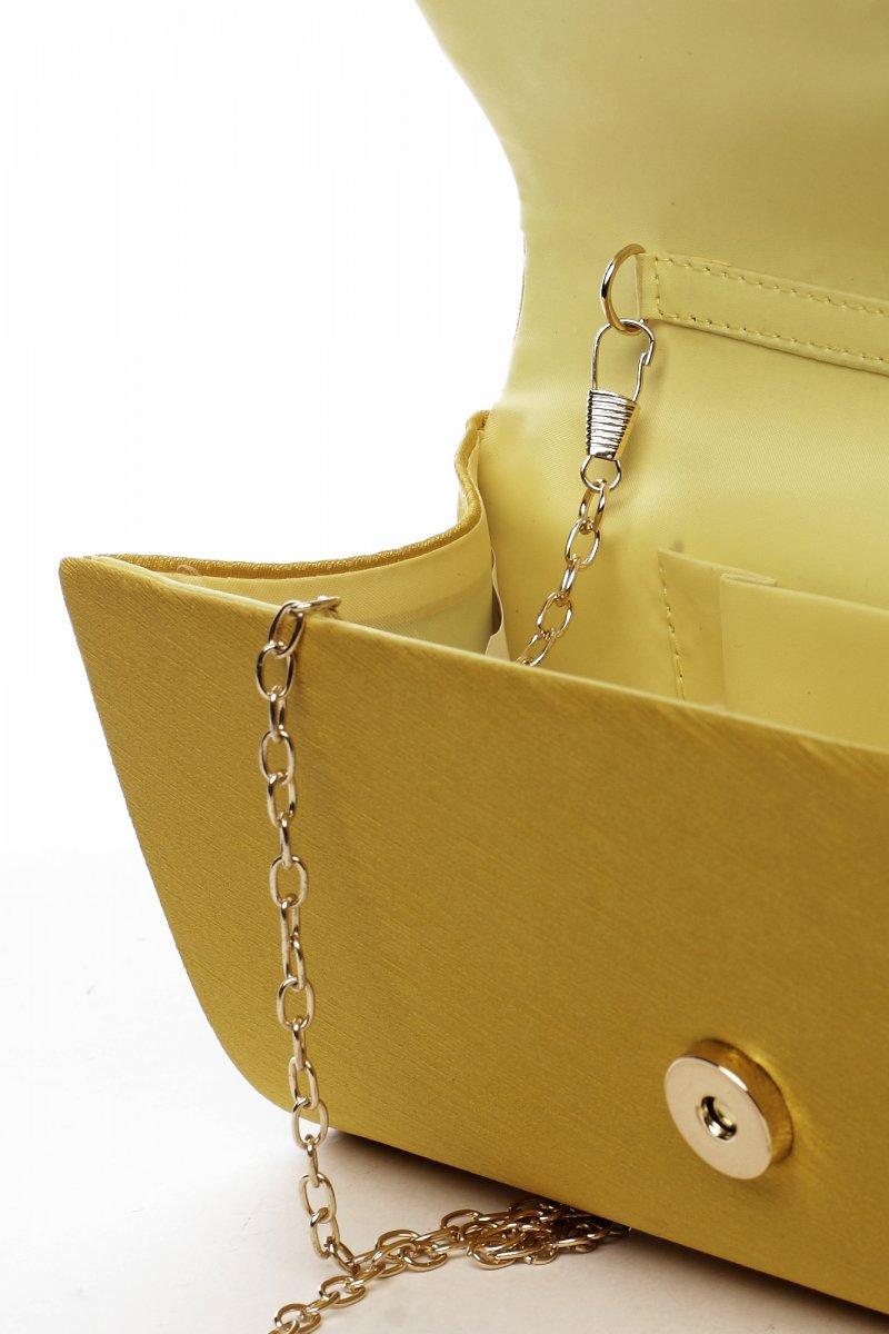 Dámská společenská kabelka Selma, žlutá