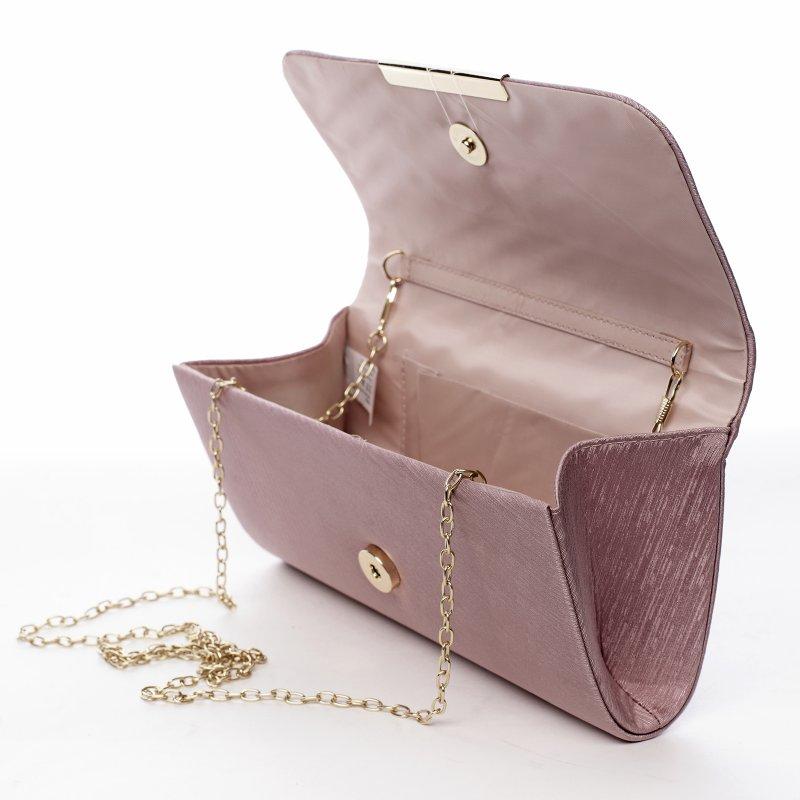 Dámská společenská kabelka Selma, růžová