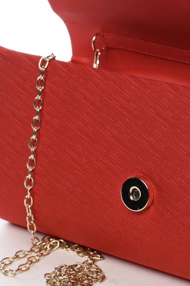 Dámská společenská kabelka Selma, červená
