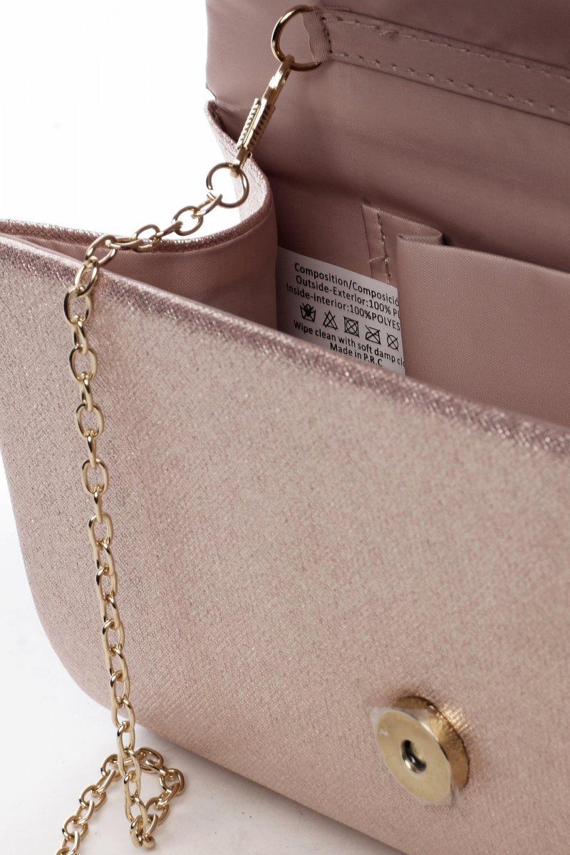 Moderní dámská společenská kabelka Renesance, zlatá
