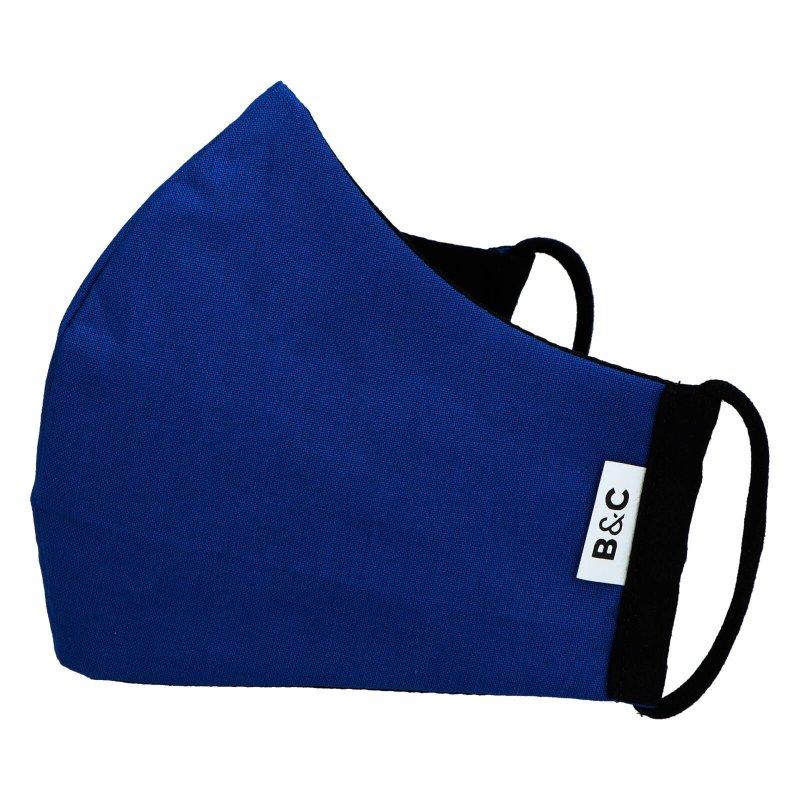 Nano rouška české výroby B&C, tmavě modrá, velikost L