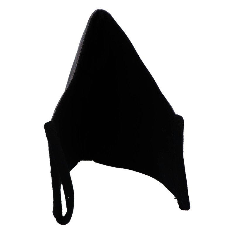 Nano rouška české výroby B&C, tmavě šedá, velikost M
