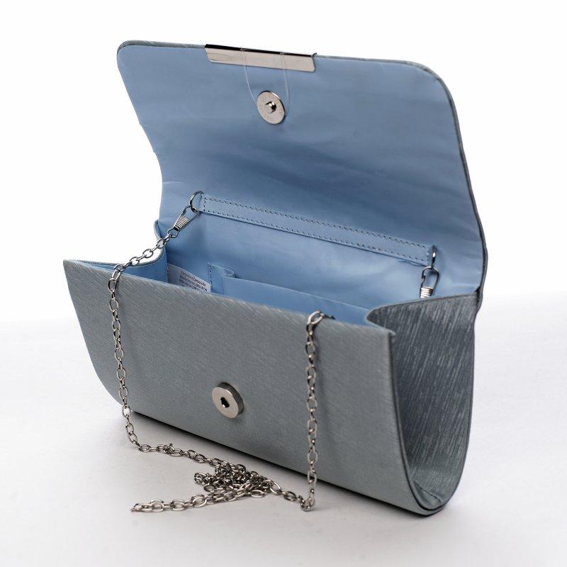 Dámská společenská kabelka Well, světle modrá