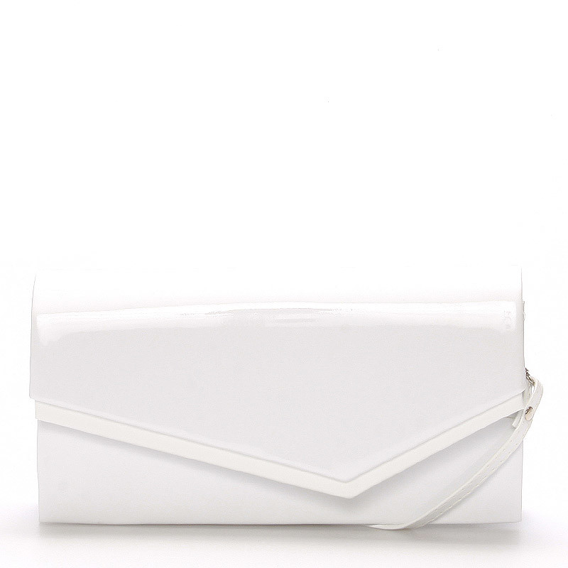 Elegantní dámské psaníčko Mirnas, bílá