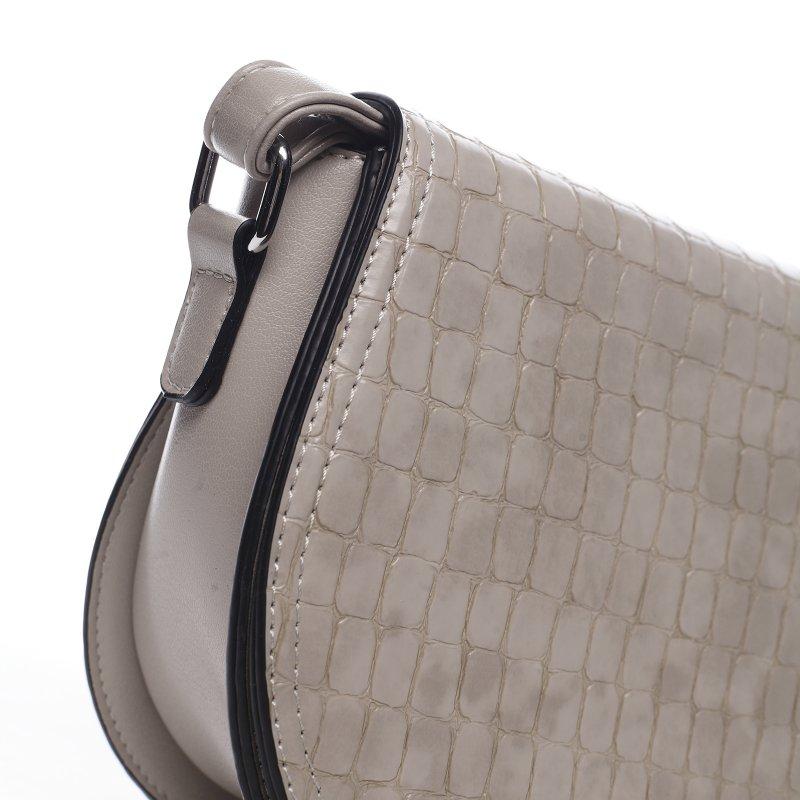 Moderní dámská koženková kabelka Siria, apricot