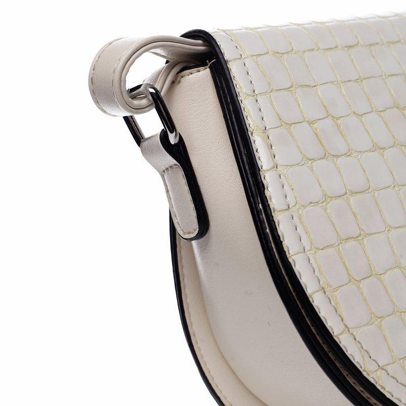 Moderní dámská koženková kabelka Siria, béžová
