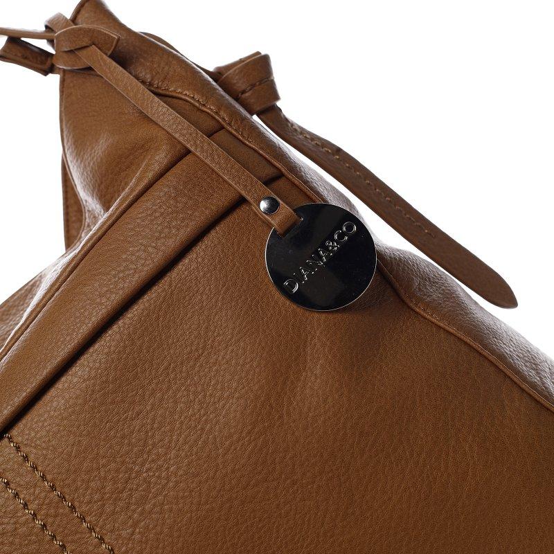 Trendová dámská kabelka Happy Steff, hnědá