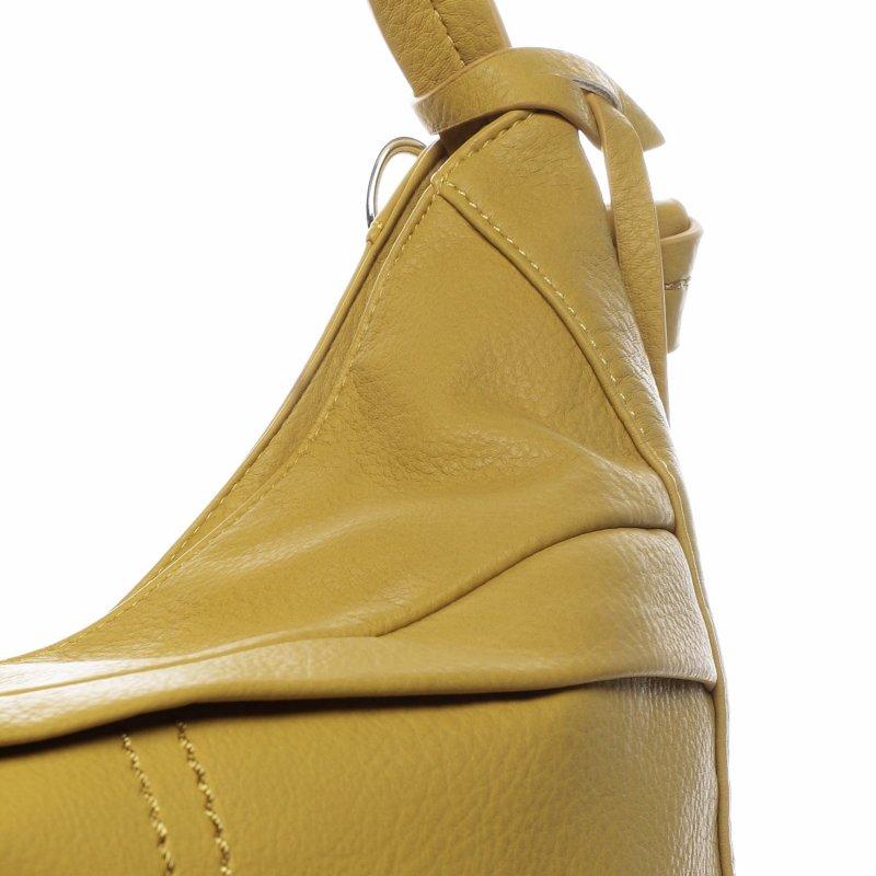 Trendová dámská kabelka Happy Steff, žlutá