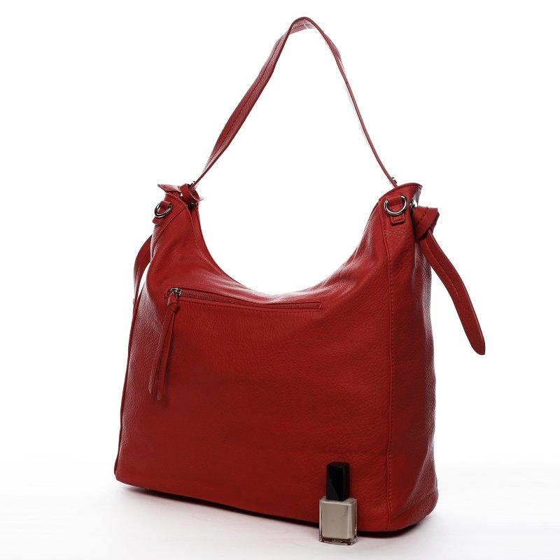 Trendová dámská kabelka Happy Steff, červená