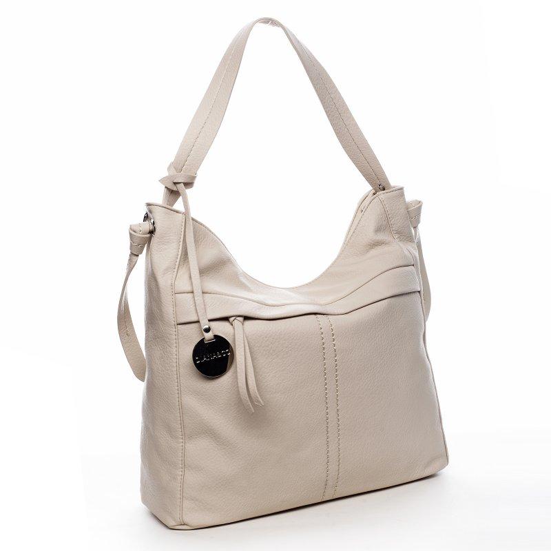 Trendová dámská kabelka Happy Steff,béžová