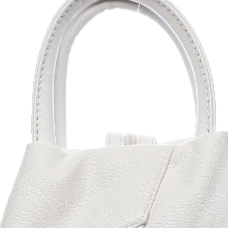 Praktický dámský kabelko batoh Sarah, bílý
