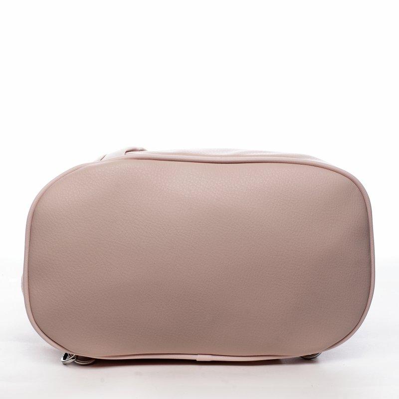 Praktický dámský kabelko batoh Sarah, růžový