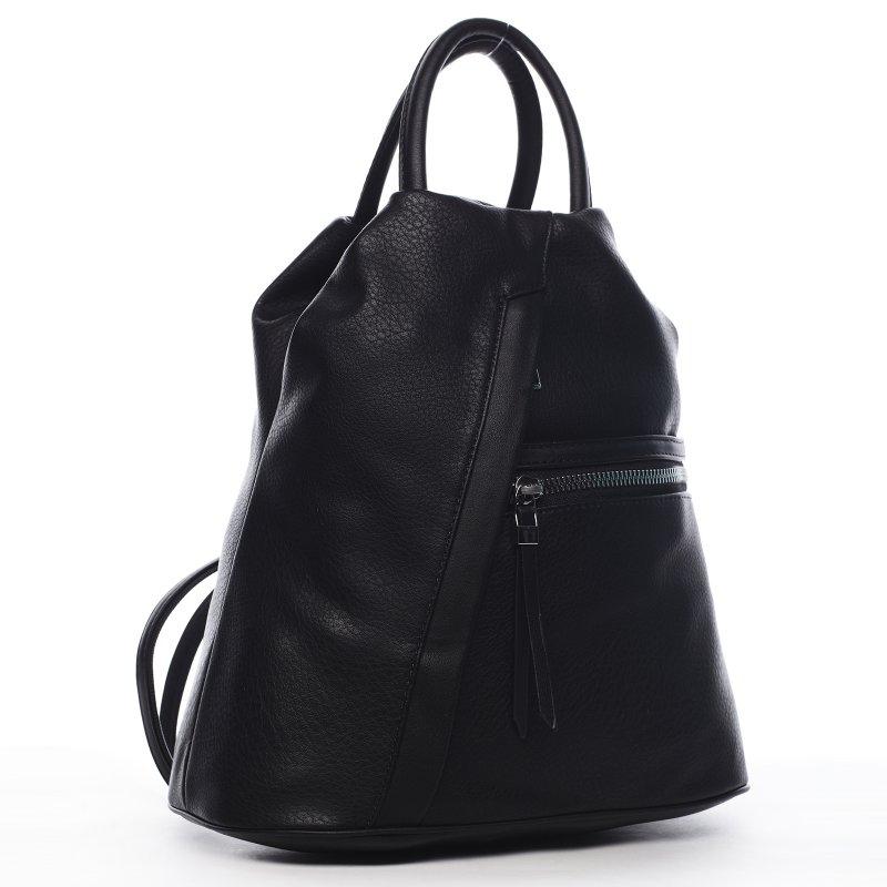 Praktický dámský kabelko batoh Sarah, černý