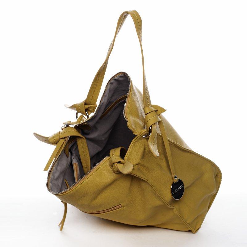 Trendová dámská kabelka Diana Florencie, žlutá