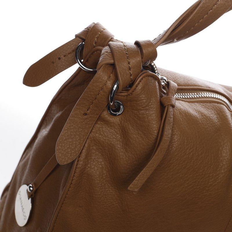 Trendová dámská kabelka Diana Florencie, hnědá