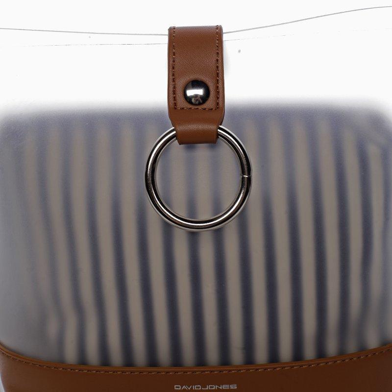 Letní designová kabelka Summer sun, hnědá