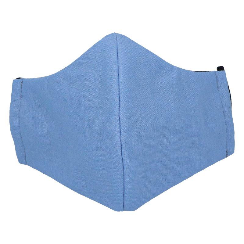 Antibakteriální rouška s ionty stříbra, pastelová modrá, B&C BIOACTIVE velikost L