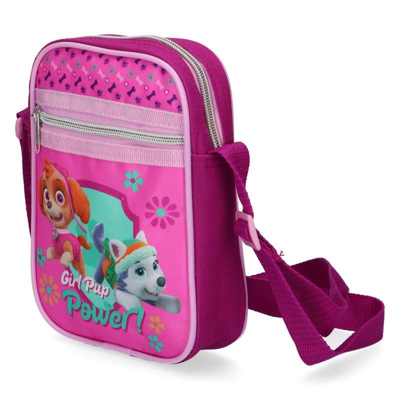 Menší kabelka pro holky Tlapková patrola, růžová
