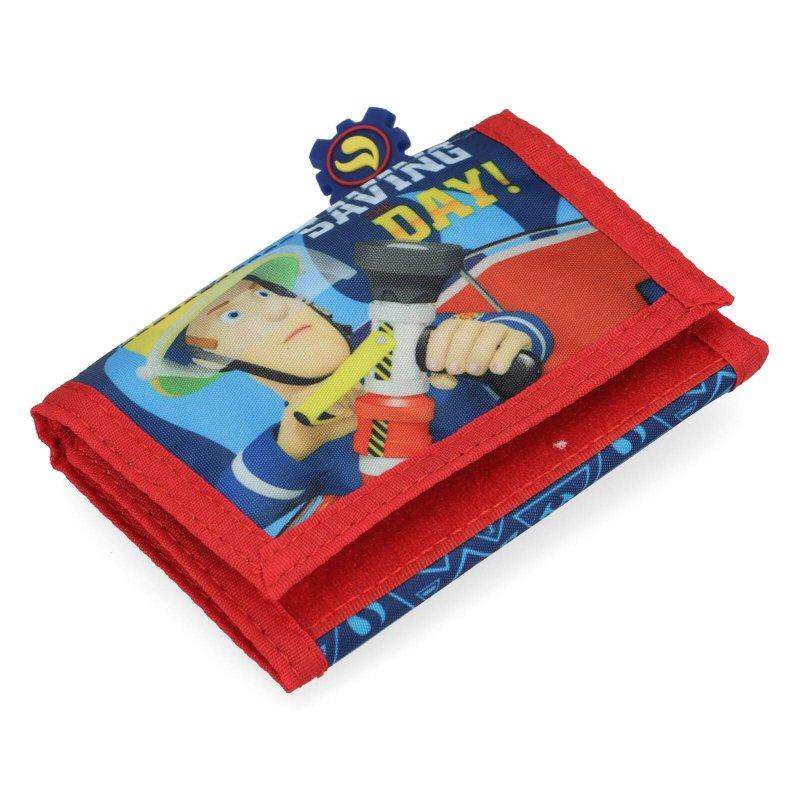 Dětská peněženka Požárník Sam, modrá