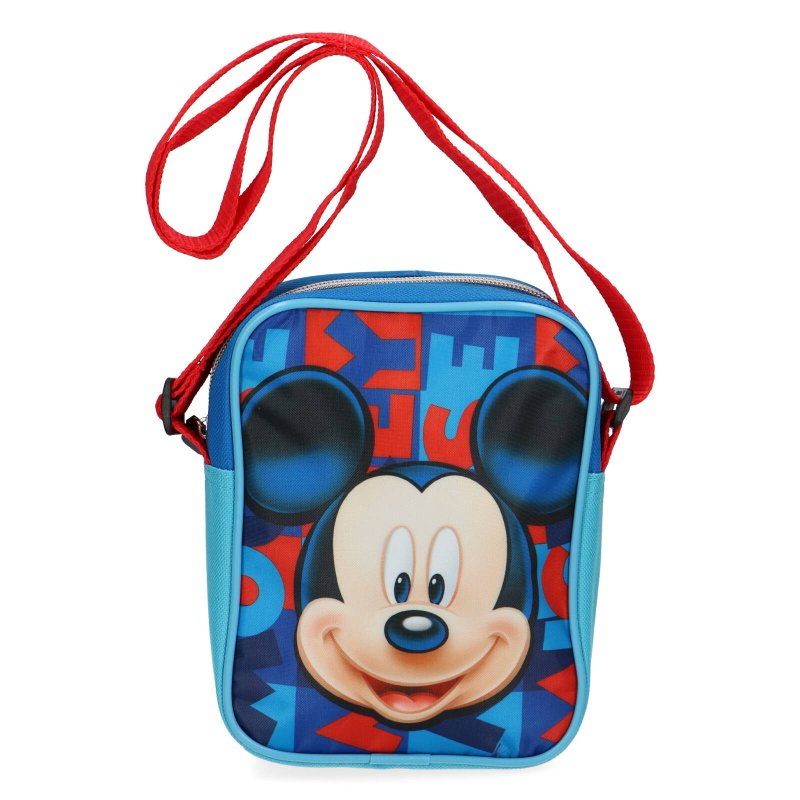 Taška pro kluky Mickey Mouse, modro červená