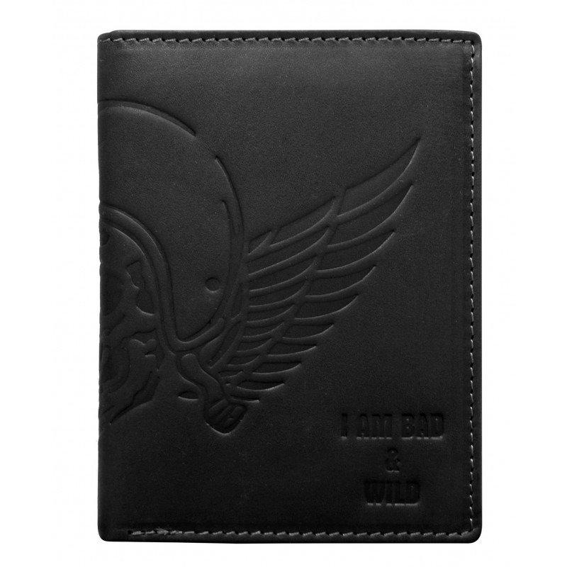 Originální kožená pánská peněženka Figo, černá