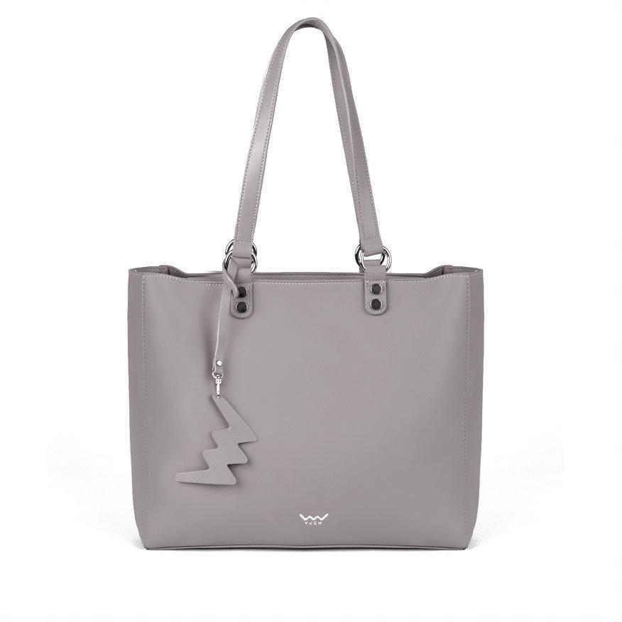 Moderní dámská kabelka VUCH Tatiana, šedá