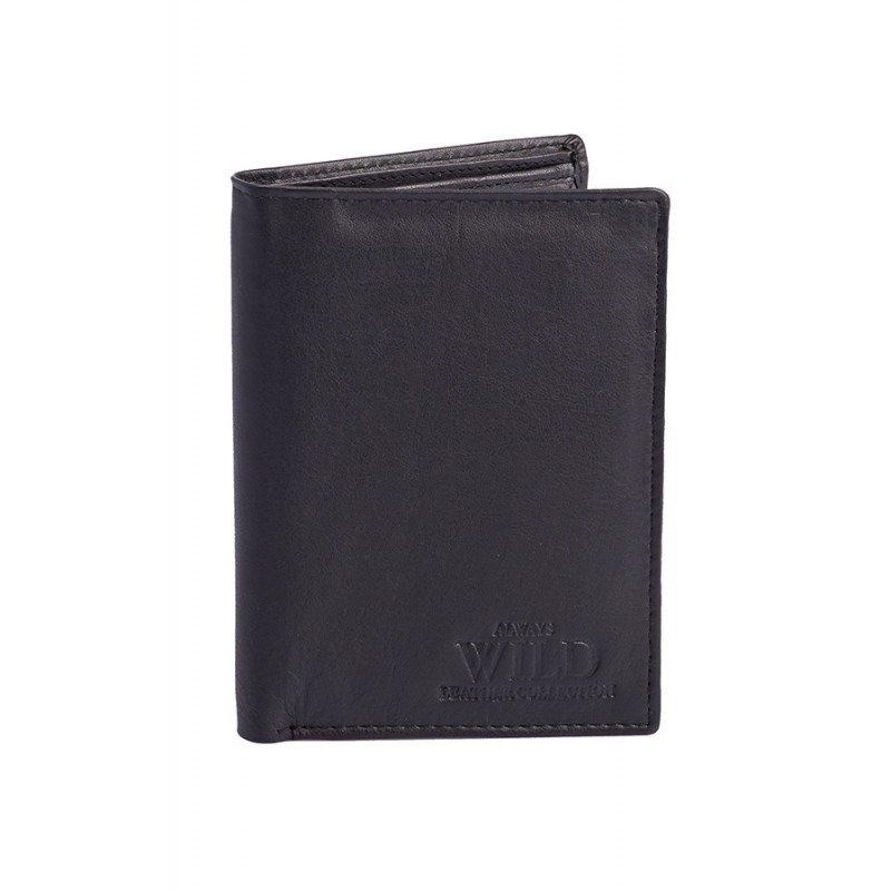 Pánská kožena peněženka Louis, černá