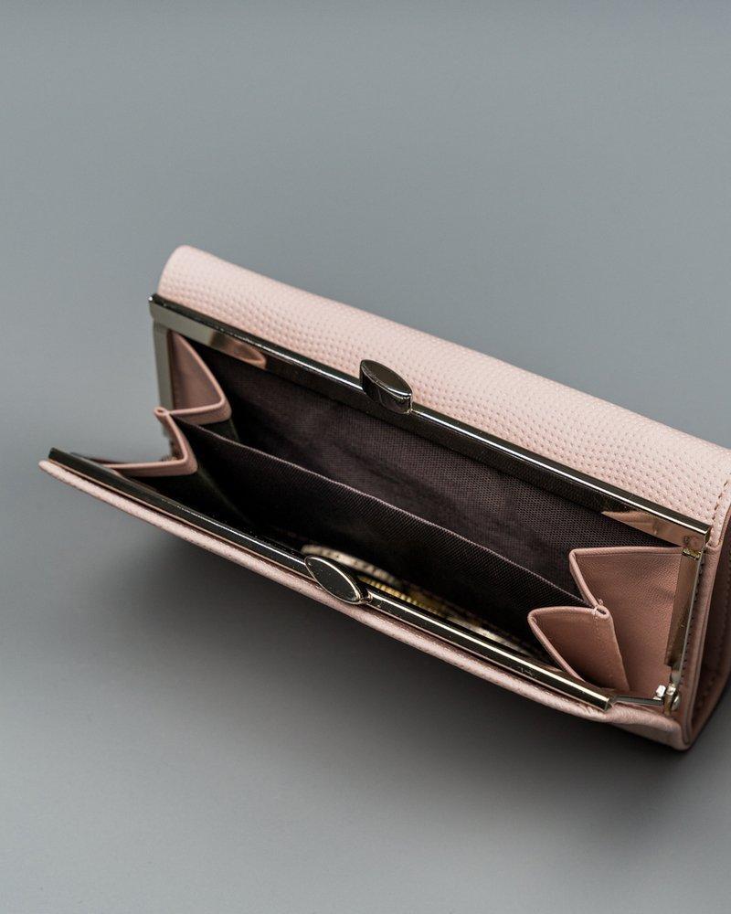 Moderní dámská peněženka Irinas, růžová