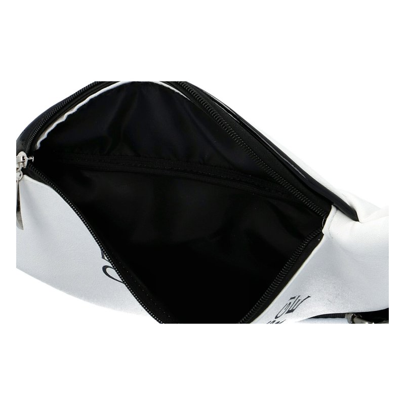 Dámská designová koženková ledvinka a kabelka Laura, bílá