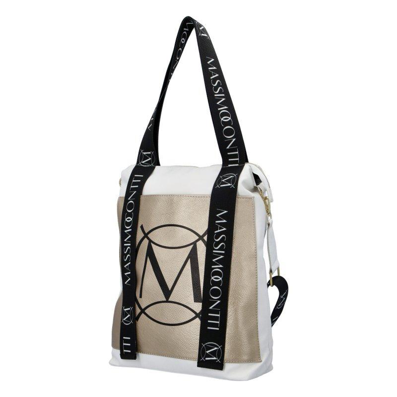 Dámská designová kabelka M.C.Mil., zlatá