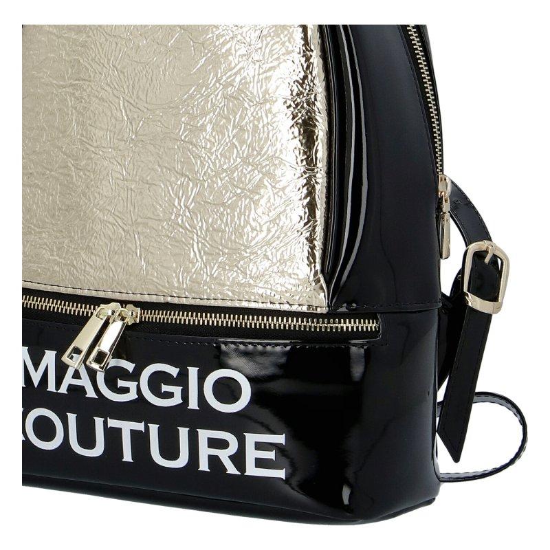 Městský dámský batoh Maggio Couture, zlatý