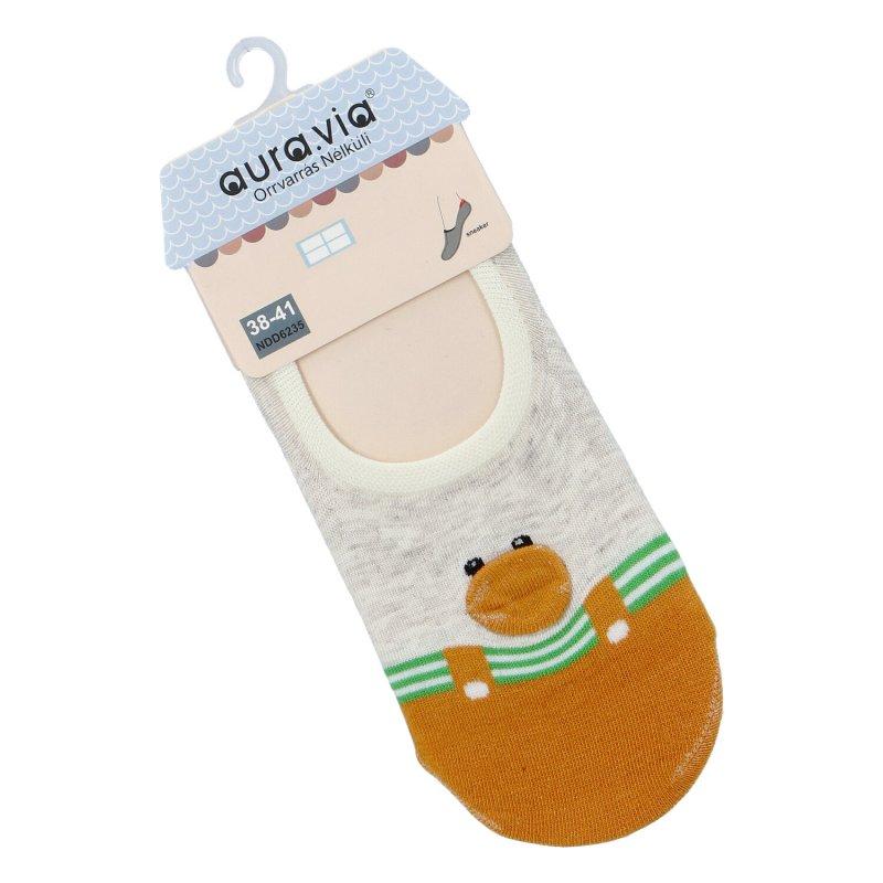 Ponožky Aura via Kačenka 38-41, oranžová